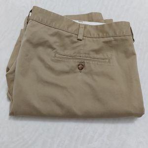 LL Bean Standard Fit Beige Khaki Size 42